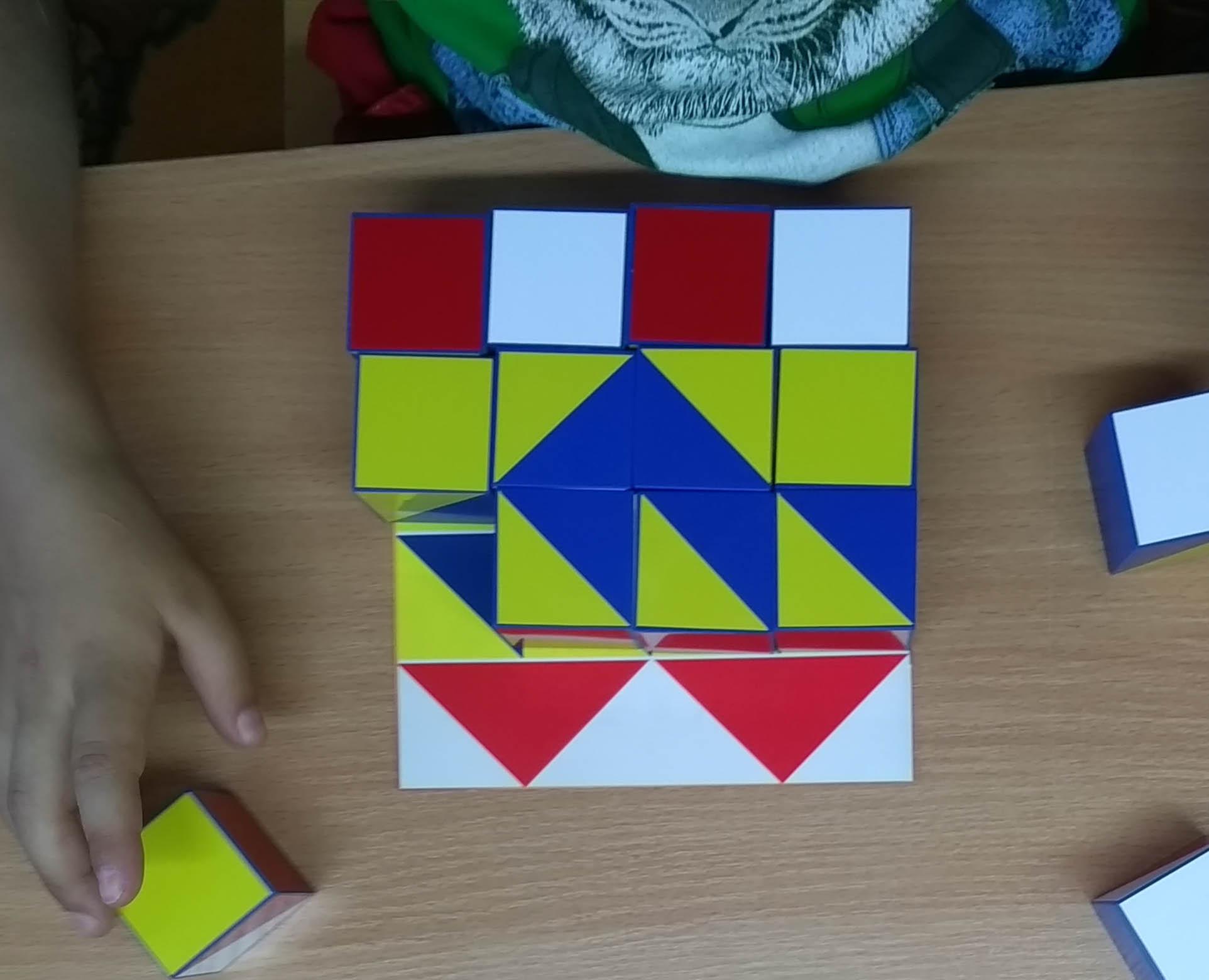 Логические развивающие Кубики