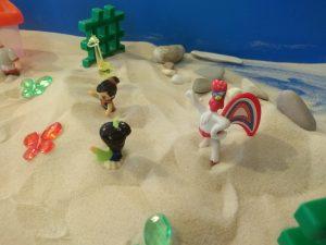 Песочная терапия в логопедическом детском центре ЛОГОС