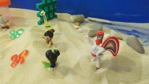 Песочная терапия в детском логопедическом центре ЛОГОС